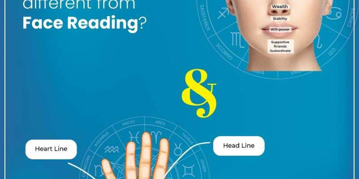 How Palmistry is Different From Face Reading?