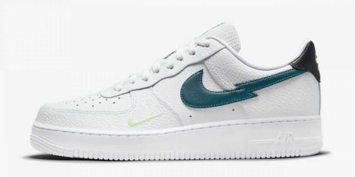 """DJ6894-100 Nike Air Force 1 Low """"Lightning Bolt"""" will be released soon"""