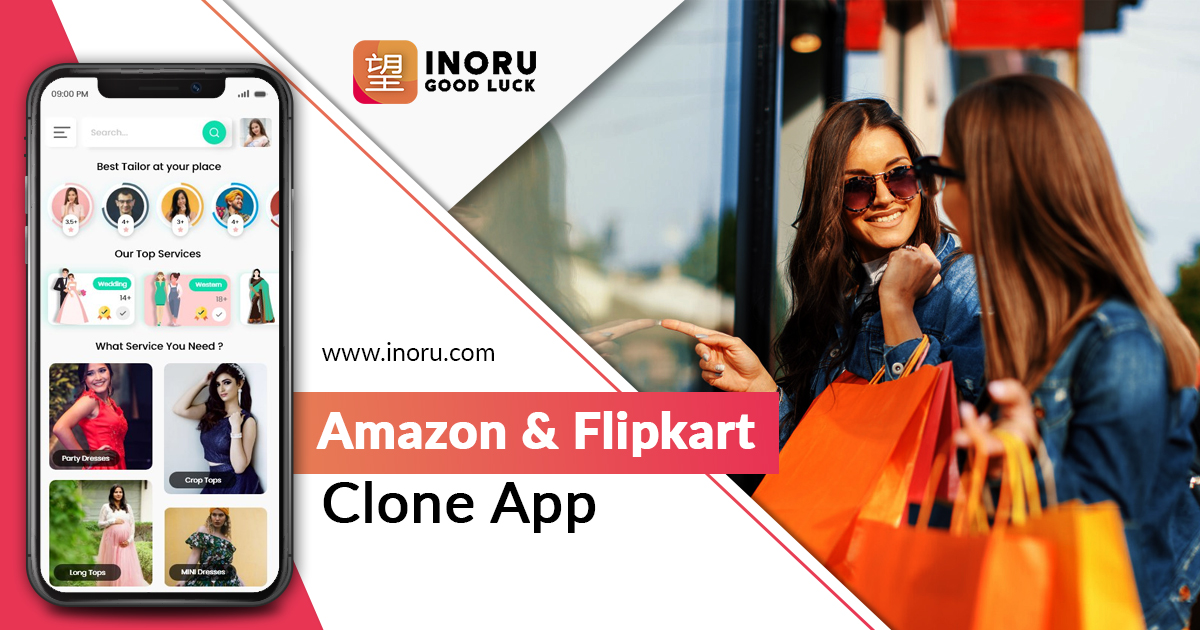 Amazon/Flipkart Clone, Ecommerce App Development, Amazon/Flipkart Clone Script