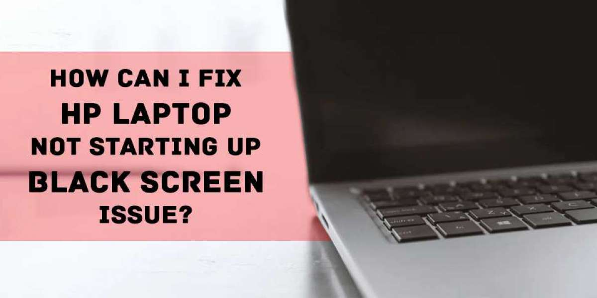 How Can I Fix HP Laptop Not Starting up Black Screen Issue?