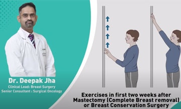 Exercises After Breast Surgery Immediately After Surgery   Dr. Deepak Jha